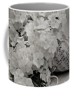Blossom And The Bee Cornucopia  Coffee Mug