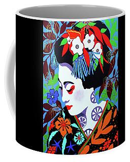Blossom Coffee Mug by Debbie Chamberlin