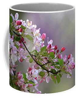 Blossoms And Bokeh Coffee Mug by Ann Bridges