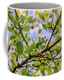 Blossoms And Leaves Coffee Mug