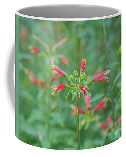 Blossoms In The Green Coffee Mug