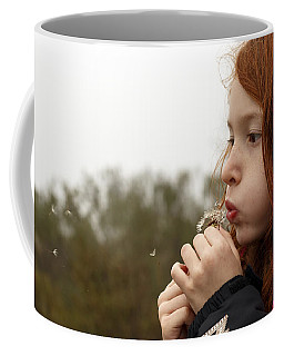 Blowing Dandelions Coffee Mug