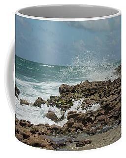 Blowing Rocks Preserve Jupiter Island Florida Coffee Mug
