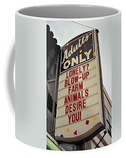 Blowup Farm Animals Sign Coffee Mug