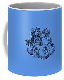 Blueberries Group Coffee Mug