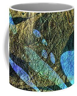 Blue Abstract Art - Deeper Visions 2 - Sharon Cummings Coffee Mug