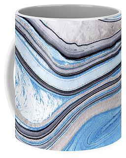 Blue Abstract Art - Water And Sky - Sharon Cummings Coffee Mug