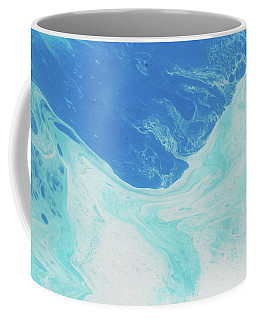 Coffee Mug featuring the painting Blue Abyss by Nikki Marie Smith
