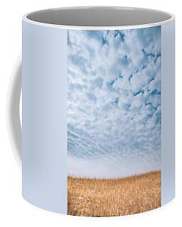 Blue And Amber Coffee Mug