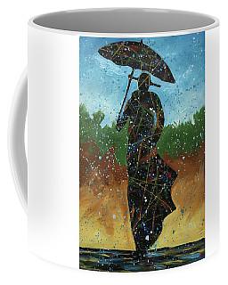 Blue And Brown Coffee Mug