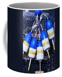 Blue And Gold Bouys Coffee Mug