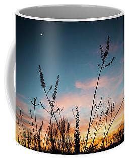 Blue And Gold Sunset Coffee Mug