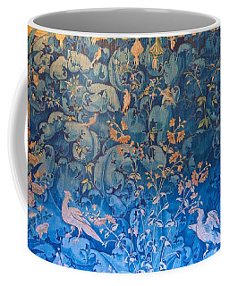 Blue And Gold Tapestry Coffee Mug