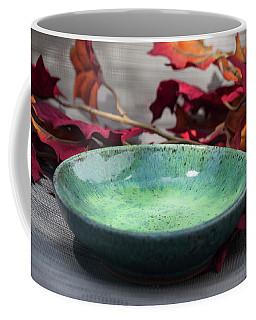 Blue And Green Shallow Bowl Coffee Mug