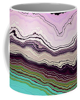 Blue And Lavender Coffee Mug