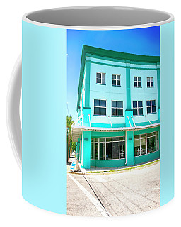 Blue And Peppermint Coffee Mug