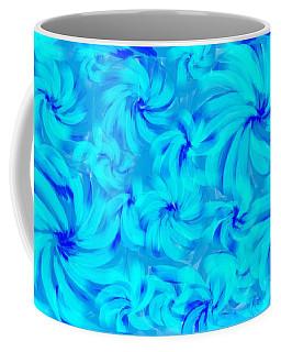 Blue And Turquoise 2 Coffee Mug