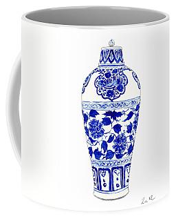 Blue And White Ginger Jar Chinoiserie Jar 1 Coffee Mug
