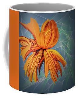 Blue And Yellow #h6 Coffee Mug