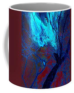 Yoga Angel At Midnight Coffee Mug