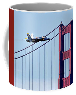Blue Angel Golden Gate Fly By Coffee Mug