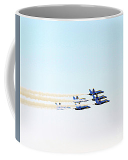 Blue Angels Jet Formation Coffee Mug