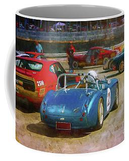 Blue Austin Healey Coffee Mug