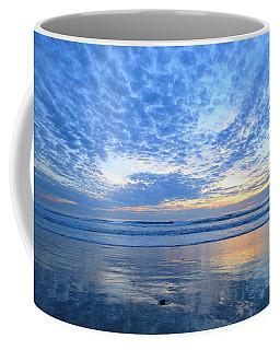 Coffee Mug featuring the photograph Beach Home Blues by John F Tsumas