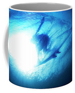Blue Barrel Coffee Mug