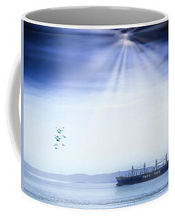 Blue Basin Coffee Mug