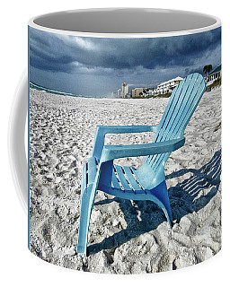 Blue Beach Chair Coffee Mug