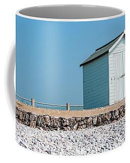 Blue Beach Hut Coffee Mug