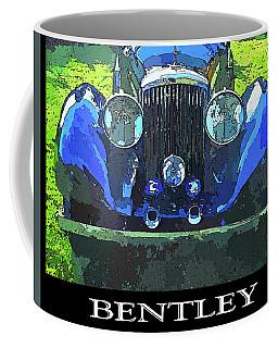 Blue Bentley Pop Title Coffee Mug
