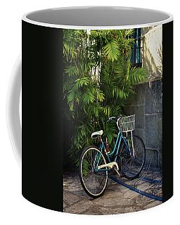 Blue Bike-  By Linda Woods Coffee Mug