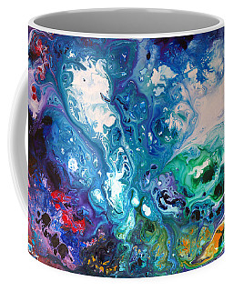Blue Billows Coffee Mug