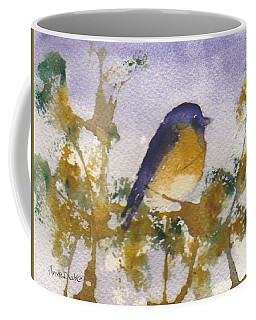 Blue Bird In Waiting Coffee Mug