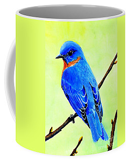 Blue Bird King Coffee Mug