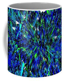 Blue Blades Of Grass Coffee Mug