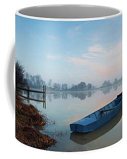 Blue Boat Coffee Mug