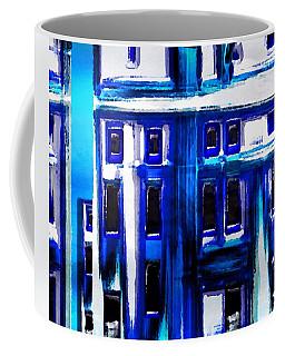 Blue Buildings Coffee Mug