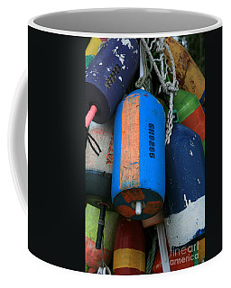 Blue Buoys Coffee Mug