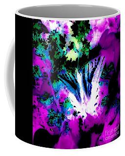Blue Butterfly Coffee Mug by Jennifer Lake