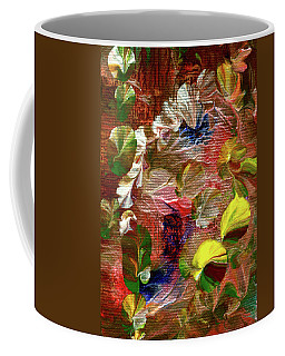 Blue Butterfly Jungle Coffee Mug