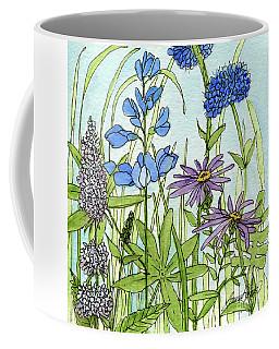 Blue Buttons Coffee Mug