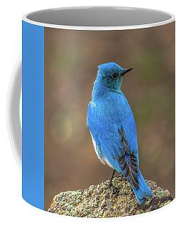 Blue By Madison River Coffee Mug by Yeates Photography