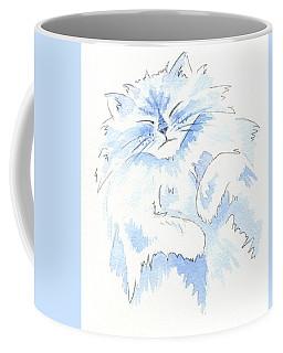 Blue Cat Coffee Mug