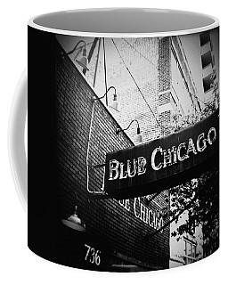 Blue Chicago Nightclub Coffee Mug