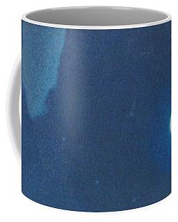 Blue Cloudy Moon Coffee Mug