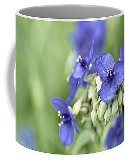 Blue Cluster Coffee Mug