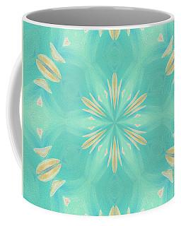 Blue Coffee Coffee Mug by Elizabeth Lock